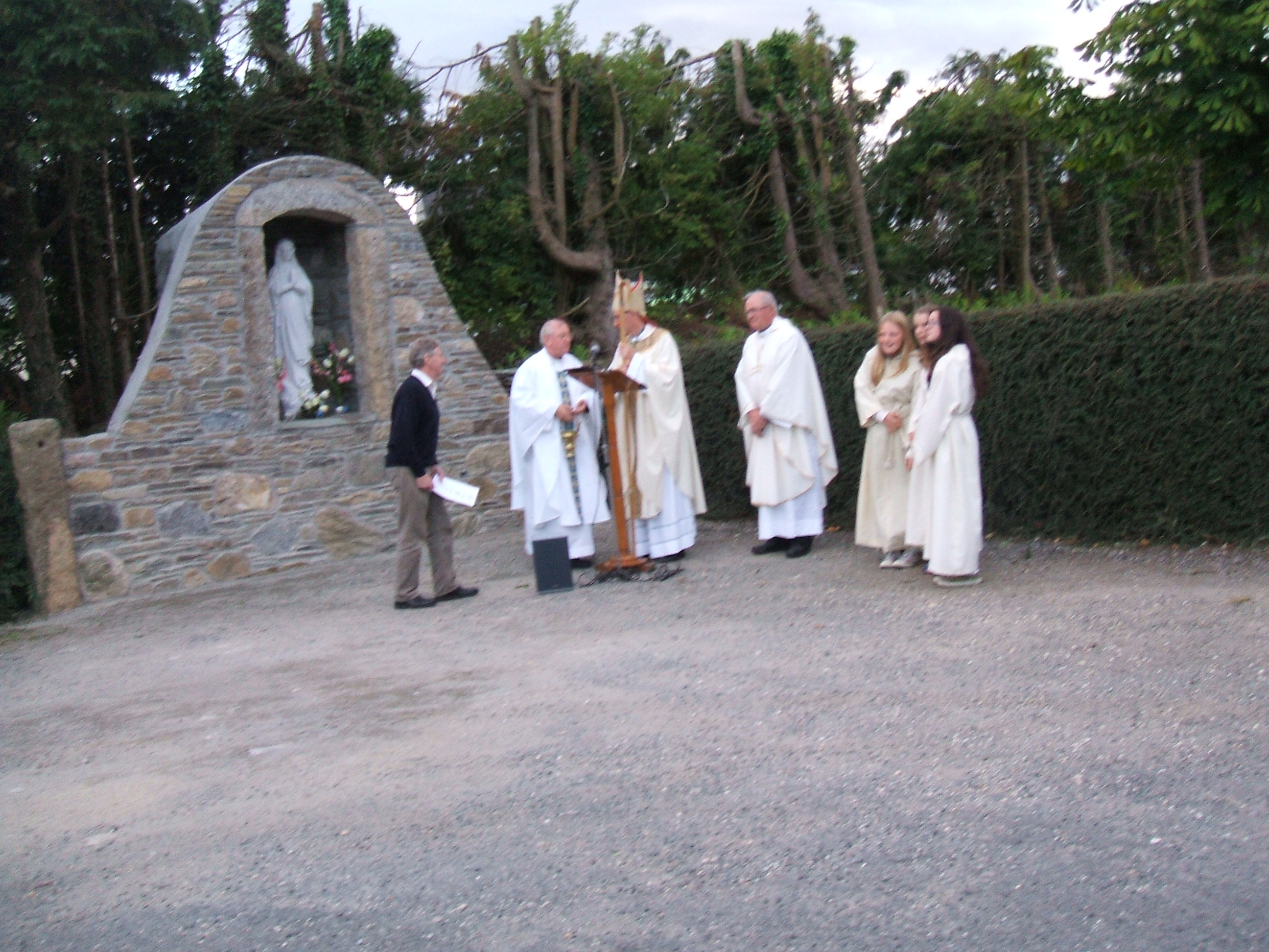 Bishop Blessing Grotto