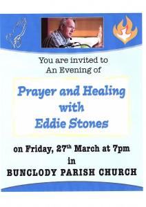 Evening of Healing & Prayer with Eddie Stones
